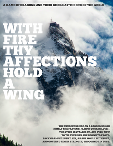 With Fire Thy Affections Hold A Wing
