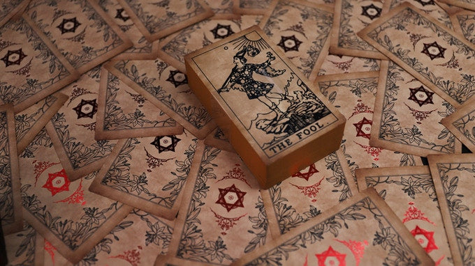 The Antique Deck - Neo Rider Tarot Deck