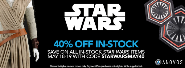 40% OFF In-Stock Star Wars