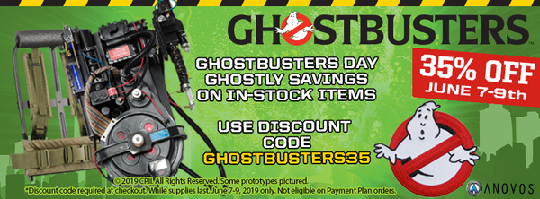 35% OFF Ghostbusters Sale