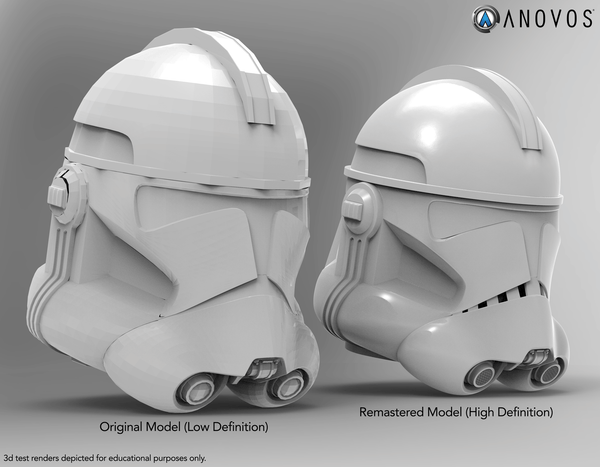 Helmet model comparisons.