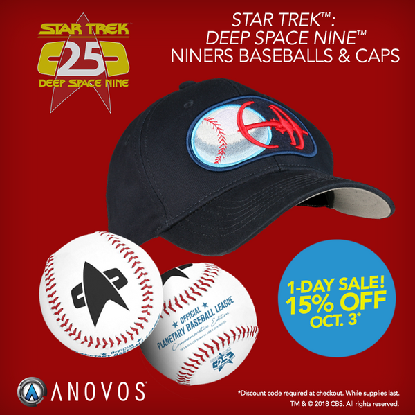 DS9 Baseball and Cap Sale