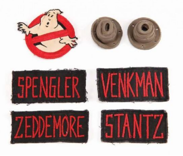 Original Ghostbusters Name Tapes and Patches