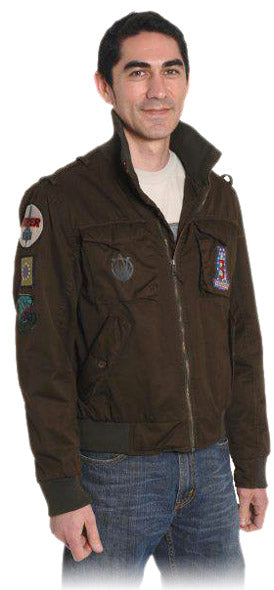 Steve F. in Screen-Used BSG Jacket