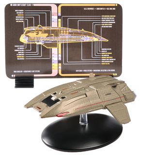 Exclusive Collector's Set of STAR TREK Shuttles 3