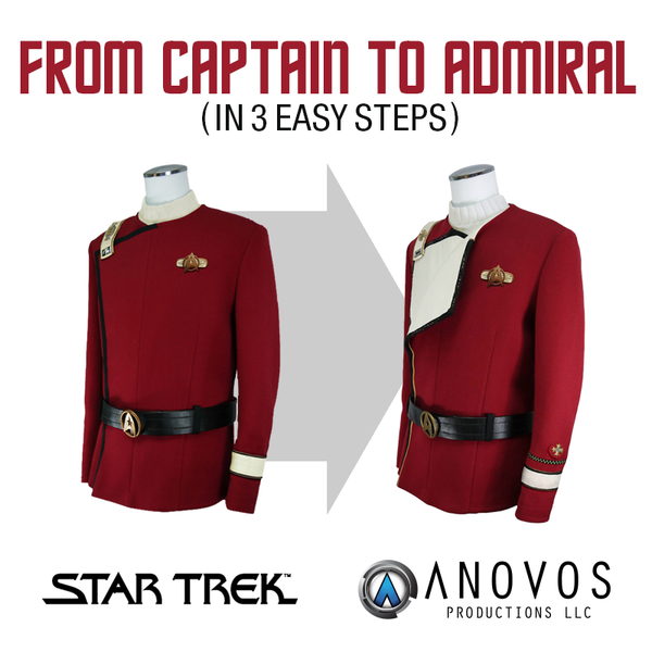 "UPGRADE - Star Trek TWOK Standard ""Spock"" (Tier 1) to Premier ""Admiral"" (Tier 1)"