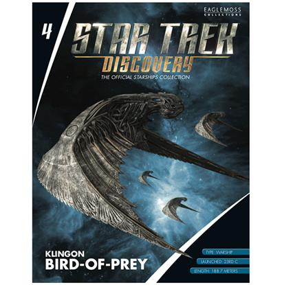 STAR TREK DISCOVERY Klingon Bird of Prey Collectible Model