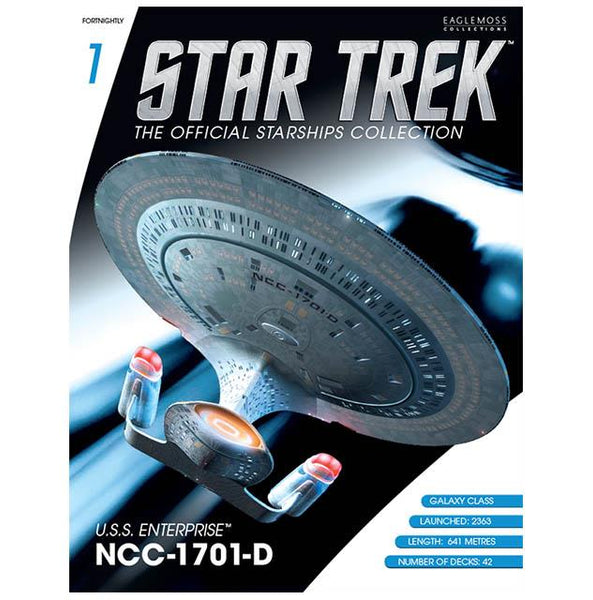 STAR TREK U.S.S. Enterprise NCC-1701-D