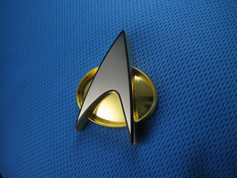 Star Trek TNG-Era Communicator Badge Replica