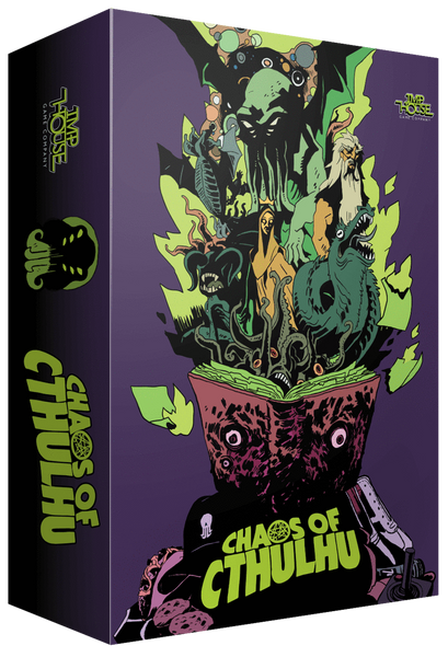 CHAOS OF CTHULHU: Lovecraftian Dice Game