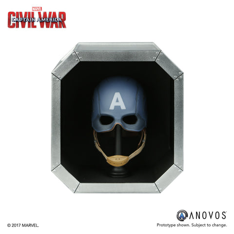 MARVEL™ Armory Collection: Captain America™ Civil War Scale Replica Helmet (Pre-order)