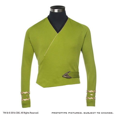 STAR TREK™: THE ORIGINAL SERIES - Captain Kirk Green Wrap - Season Two - Size LARGE
