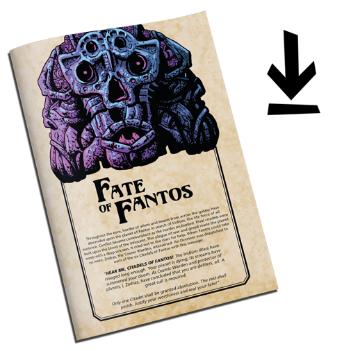 SAVAGE PLANET: FATE OF FANTOS Fantasy Card Game