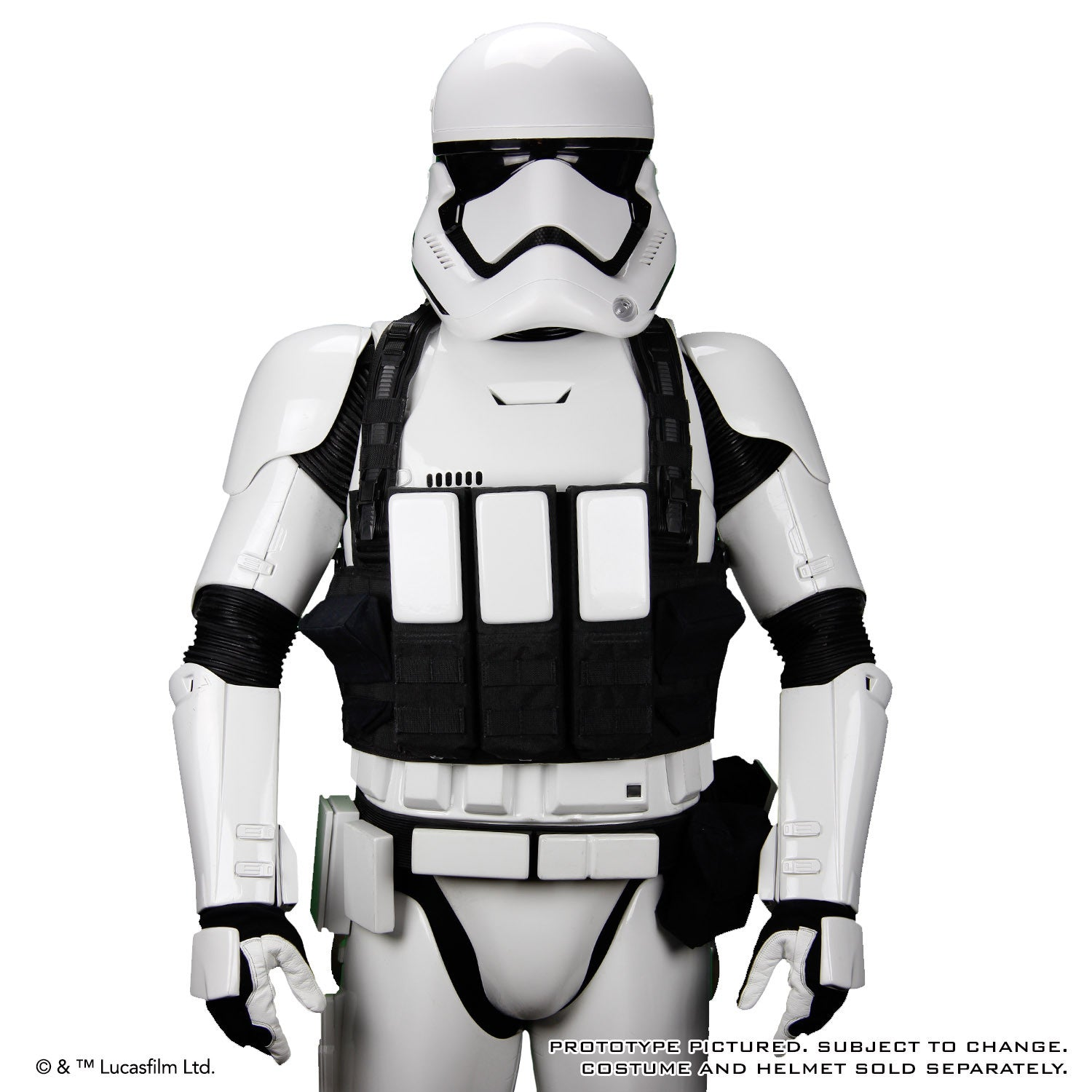 star wars the force awakens first order heavy artillery vest accessory anovos productions llc. Black Bedroom Furniture Sets. Home Design Ideas