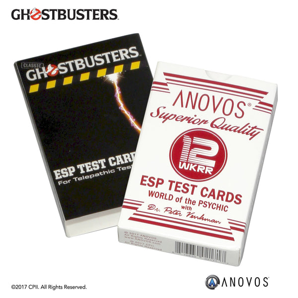 GHOSTBUSTERS™ ESP Test Cards
