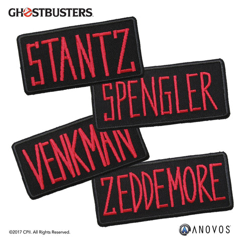 GHOSTBUSTERS™: Scientist Name Tapes