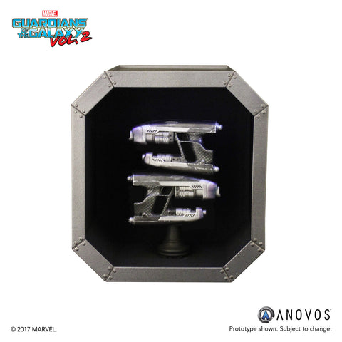 MARVEL™ Armory Collection: Guardians of the Galaxy™ Vol. 2 Star-Lord Scale Replica Quad Blasters (Pre-order)