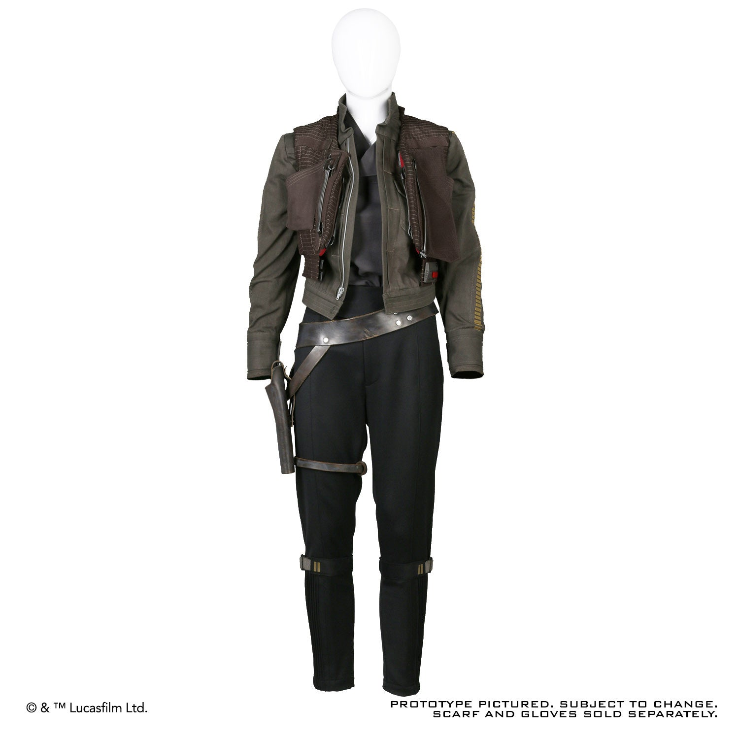 Not Available ROGUE ONE A STAR WARS™ STORY Jyn Erso Costume Ensemble  sc 1 st  Anovos & Star Wars | ANOVOS Productions LLC