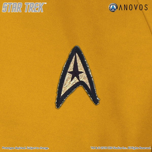 STAR TREK: THE ORIGINAL SERIES Shore Leave Collection Starfleet Uniform Shirt (Capt. Kirk Command Gold) - (Pre-Order)