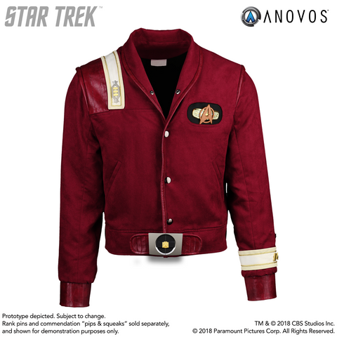 STAR TREK™: THE FINAL FRONTIER - Captain Kirk Bomber Jacket (Pre-Order)