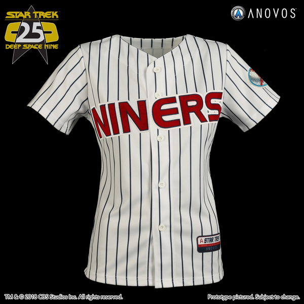 "STAR TREK: DEEP SPACE NINE Shore Leave Collection — ""Kira Nerys"" Niners Baseball Jersey"