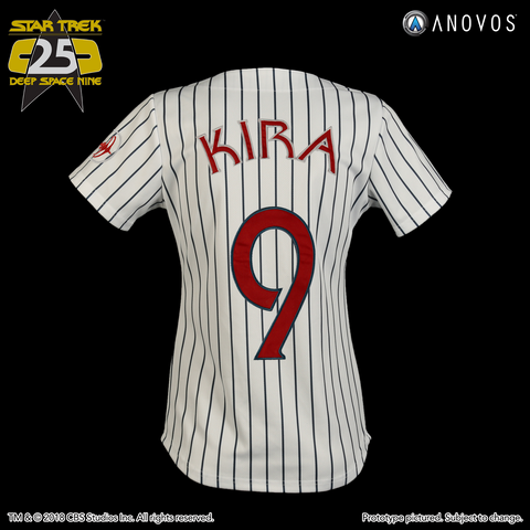 "STAR TREK: DEEP SPACE NINE Shore Leave Collection — ""Kira Nerys"" Niners Baseball Jersey (2018 Pre-Order)"