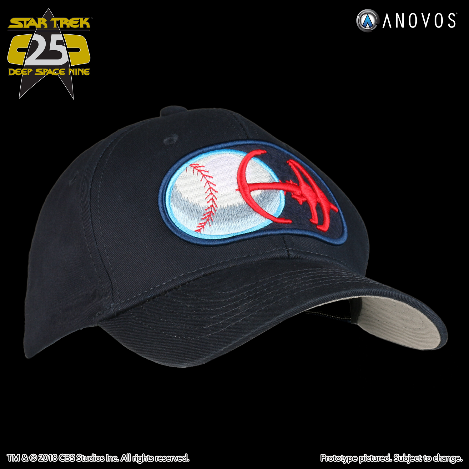ebf338df1a STAR TREK™  DEEP SPACE NINE Shore Leave Collection - Niners Baseball Cap