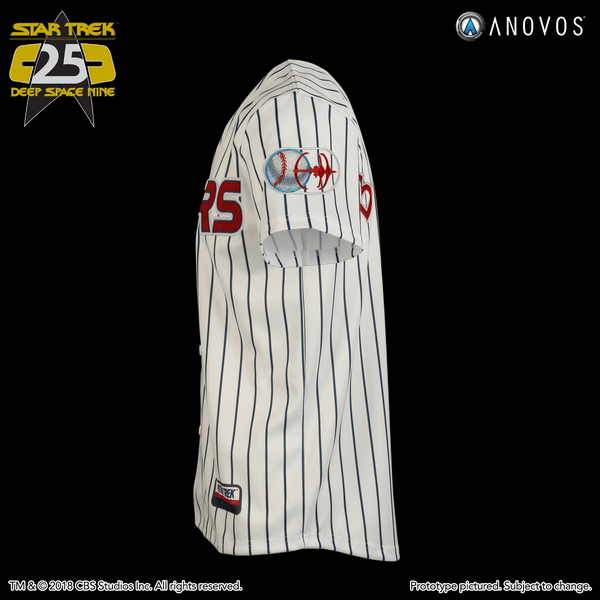 "STAR TREK: DEEP SPACE NINE Shore Leave Collection — ""Ben Sisko"" Niners Baseball Jersey"