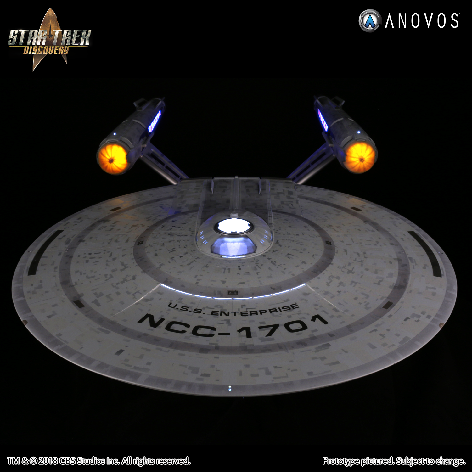 STAR TREK DISCOVERY NCC 1701 USS Enterprise Constitution Class Studio