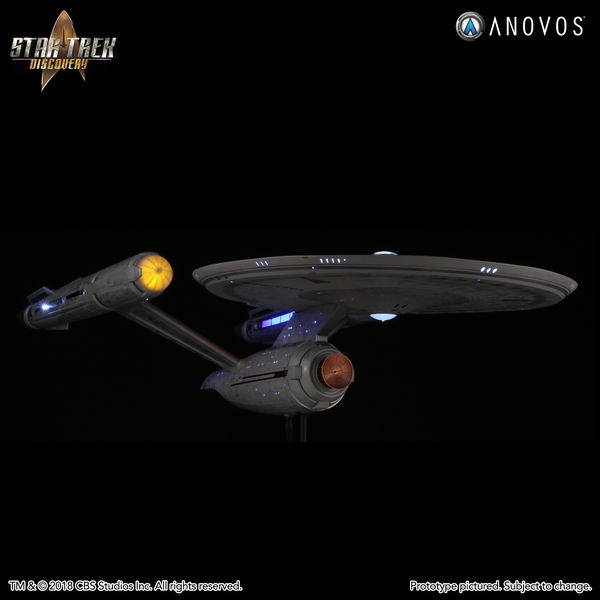 STAR TREK: DISCOVERY — NCC-1701 U.S.S. Enterprise, Constitution-Class Studio-Scale Starship Filming Miniature