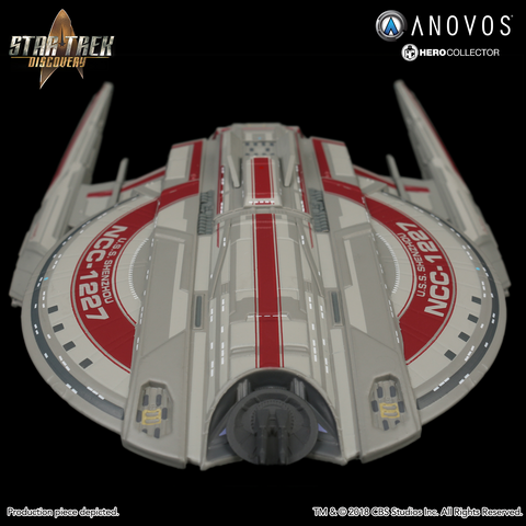 STAR TREK™: DISCOVERY U.S.S. Shenzhou NCC-1227 Collectible Ship Model (2018 Reservation)