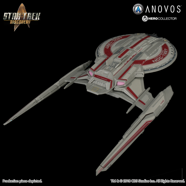 STAR TREK™: DISCOVERY U.S.S. Shenzhou NCC-1227 Collectible Ship Model (Reservation)