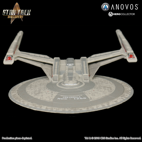 STAR TREK™: DISCOVERY U.S.S. Kerala NCC-1255 Collectible Ship Model (Winter 2018 Reservation)