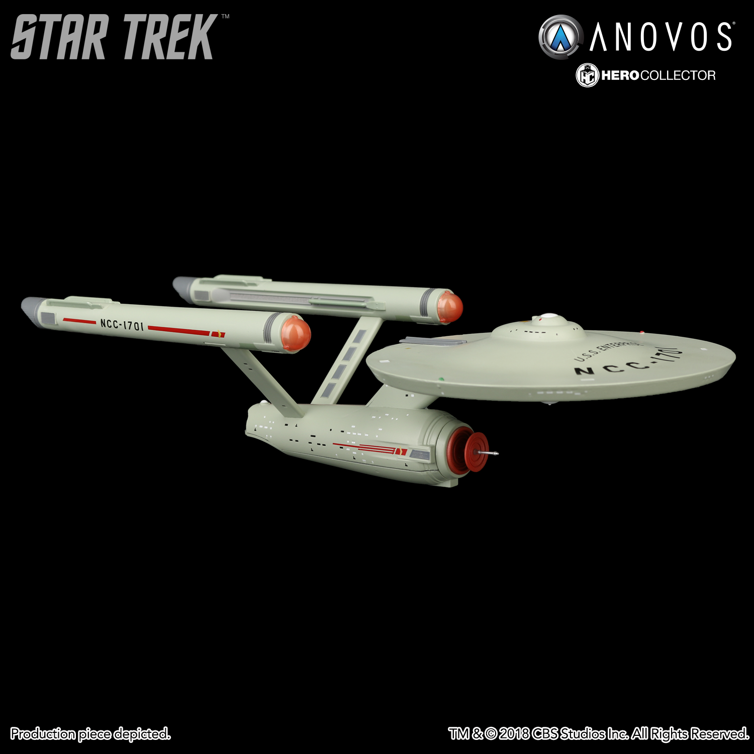 STAR TREK™: THE ORIGINAL SERIES U.S.S. Enterprise NCC-1701 Collectible XL  Edition Ship