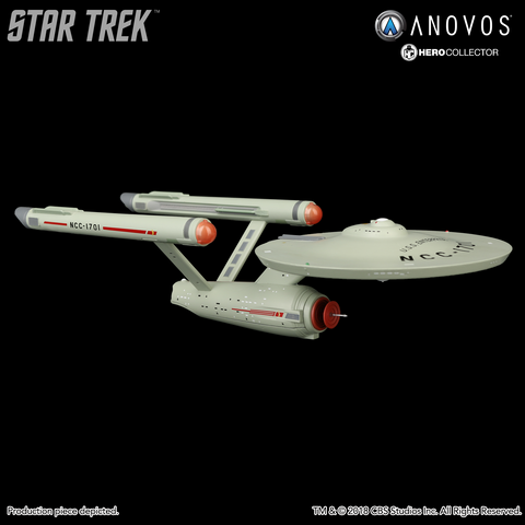 STAR TREK™: THE ORIGINAL SERIES U.S.S. Enterprise NCC-1701 Collectible XL Edition Ship Model