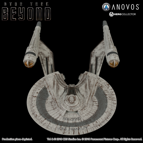 STAR TREK™: BEYOND U.S.S. Franklin NX-326 Collectible Ship Model (Reservation)