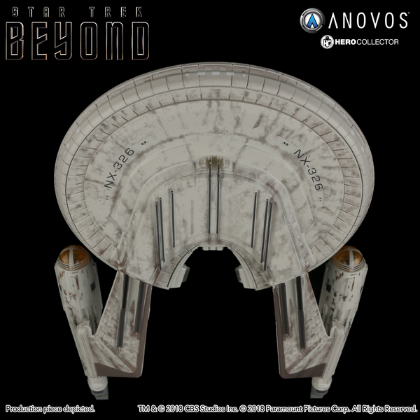 STAR TREK™: BEYOND U.S.S. Franklin NX-326 Collectible Ship Model