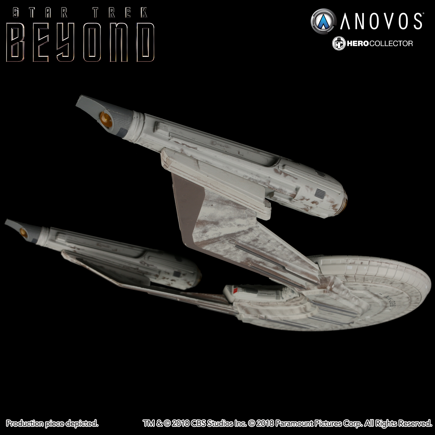 STAR TREK™: BEYOND U S S  Franklin NX-326 Collectible Ship Model  (Reservation)