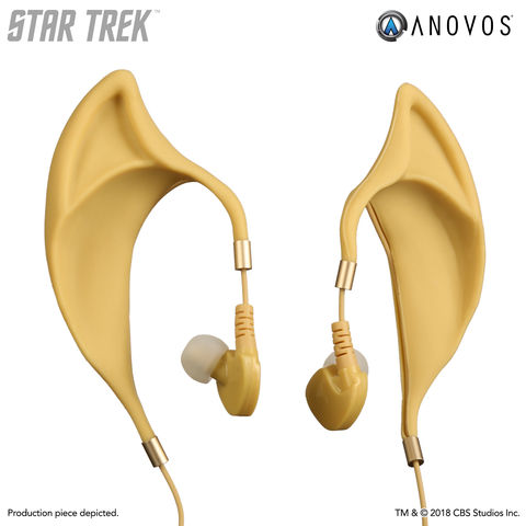 "STAR TREK™ Vulcan Earbuds with Inline Remote and Mic - Wireless ""Spock"" Style"