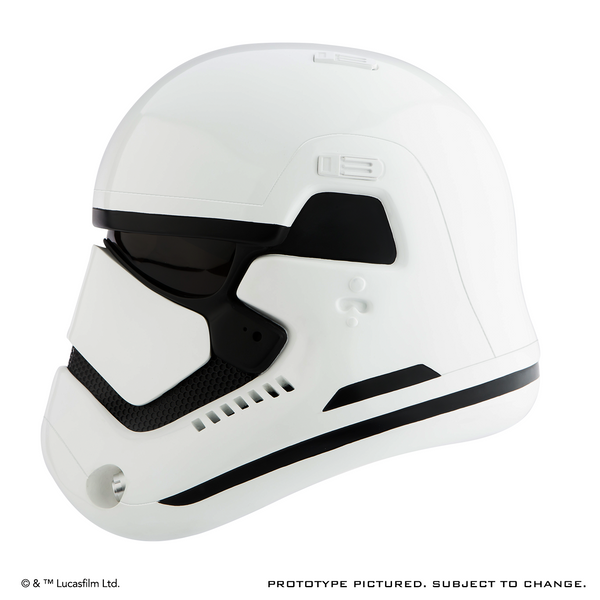 STAR WARS™: THE FORCE AWAKENS: First Order Stormtrooper Helmet Premier Line Accessory (Pre-Order)