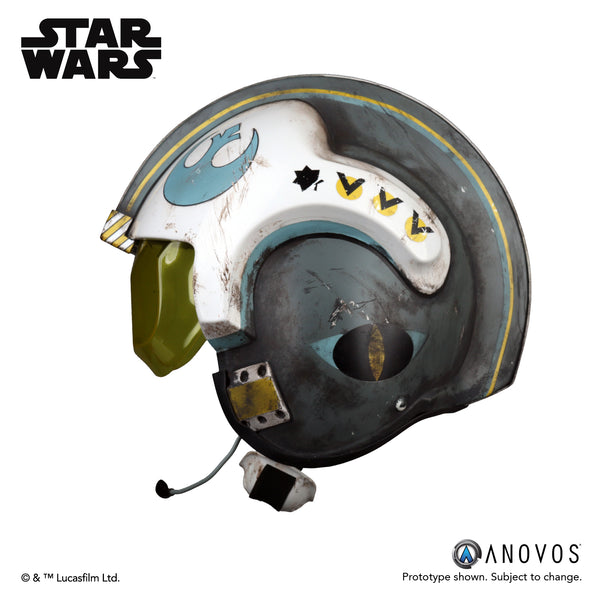 ROGUE ONE: A STAR WARS™ STORY General Merrick Blue Squadron Helmet Accessory
