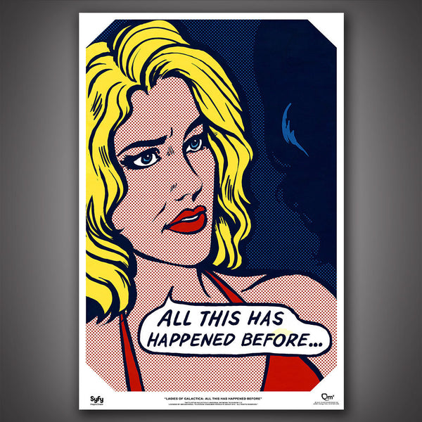 BATTLESTAR GALACTICA™ The Ladies of Galactica: Pop Art Six