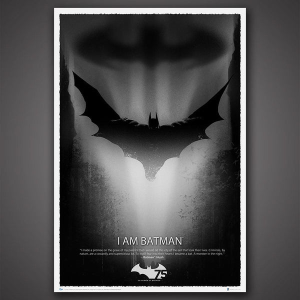 BATMAN™ 75th Anniversary Art Print