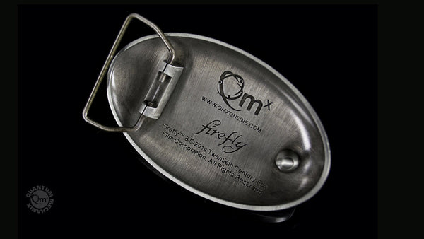 "FIREFLY™ ""Engineered by Firefly"" Belt Buckle"