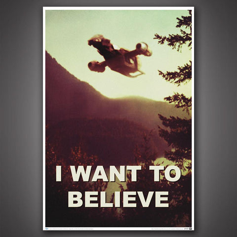 "FIREFLY™ ""I Want to Believe"" Art Print"