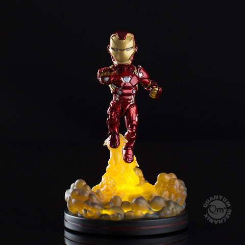 MARVEL™ Iron Man Light-Up Q-Fig FX Diorama