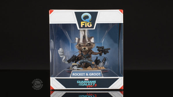 MARVEL™ GUARDIANS OF THE GALAXY Rocket & Groot Q-Fig Diorama