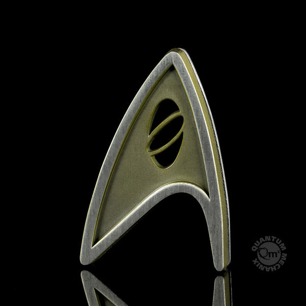 Star Trek Beyond Magnetic Insignia Badge - Science