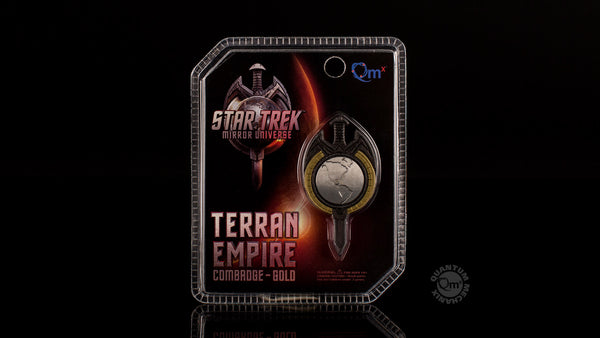 STAR TREK: THE NEXT GENERATION Mirror Universe Magnetic Badge (Reservation)