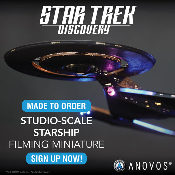 STAR TREK™: DISCOVERY — NCC-1031 U.S.S. Discovery Studio-Scale Starship Filming Miniature (Made to Order)